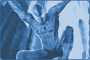 famous super heroe spiderman
